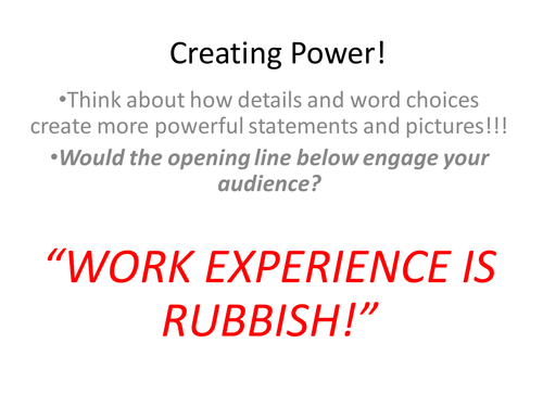 Creating Power in Speaking and Listening