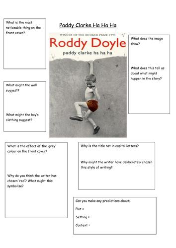 Pre reading Paddy Clarke