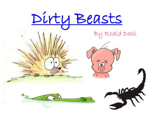 Dirty Beasts Poetry