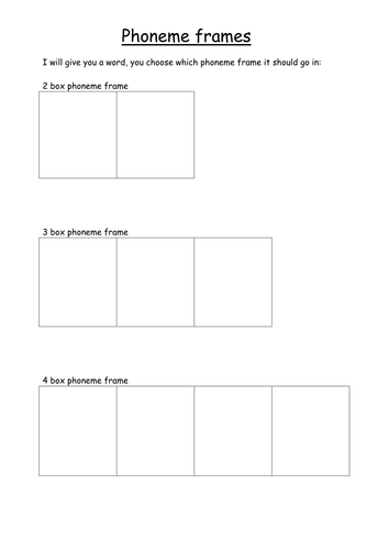 Selection of phoneme frames