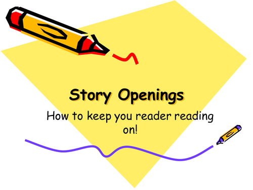 Story Opening Detective and Crime Writing