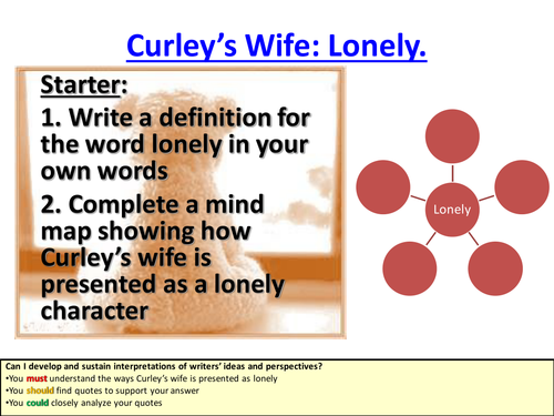 curley s wife monologue