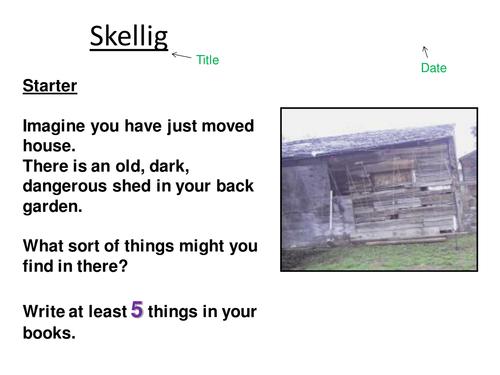 Skellig Lesson 1