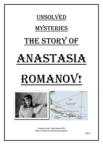 The Mystery of Anastasia Romanov