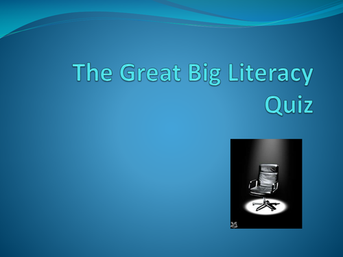 The Great Big Literacy Quiz