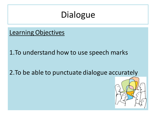 Dialogue and Semi Colons