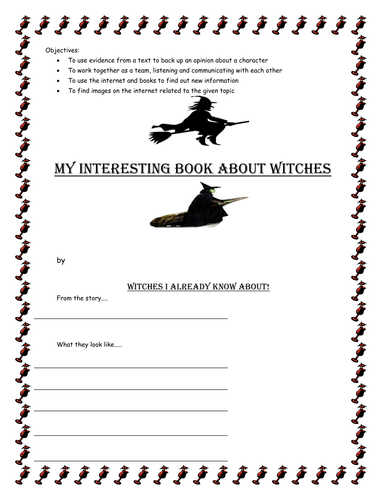 Worst Witch Information Booklet