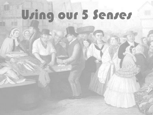 Using 5 Senses Descriptive Writing