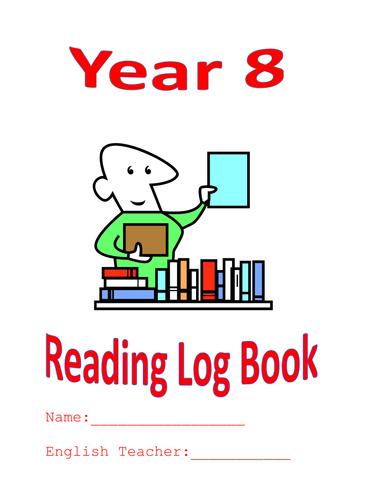 7th Grade Reading Log Book