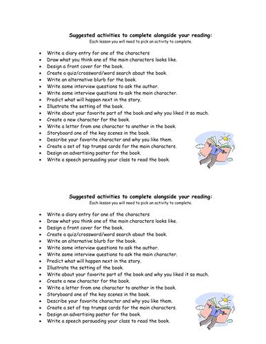 Grade 6 Self-selected Reading Activities