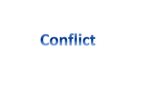 Romeo and Juliet Conflict Essay Prep