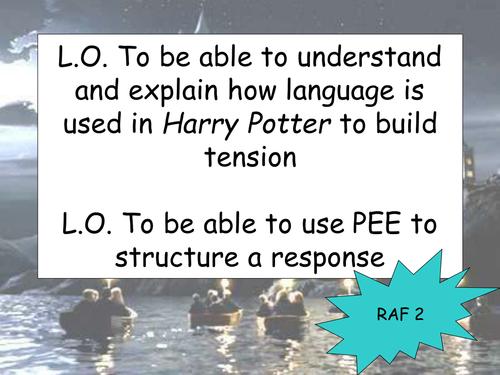 Harry Potter Point Evidence Analysis