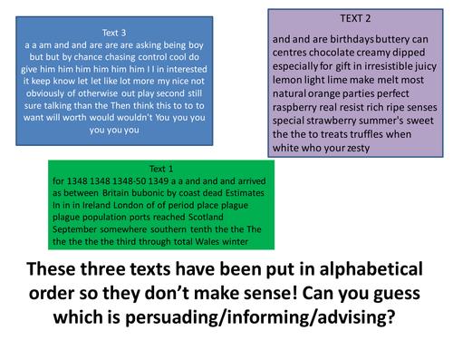 Writing persuasively