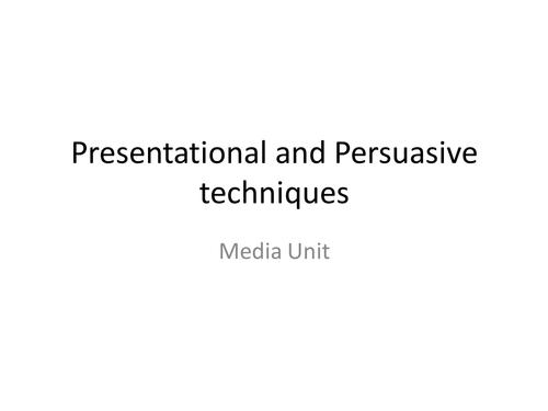 Media Moguls- Presentational and Persuasive Tech.