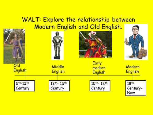 History of English Language; Old English /Invaders