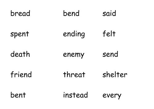 e words for IWB