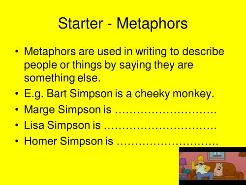 The Simpsons  - Metaphors