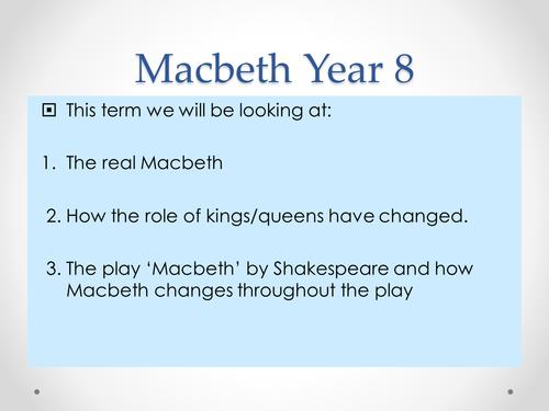 Macbeth - Lesson 1 - Introduction