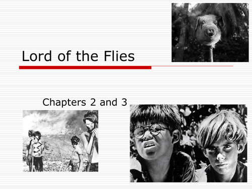 lord of the flies chapter by
