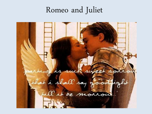 Romeo and Juliet PPTs (Prologue; Act 1)
