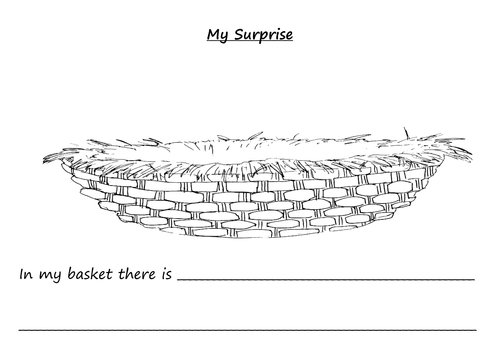 Handas Surprise; whats in your basket?