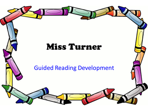 Guided Reading ideas