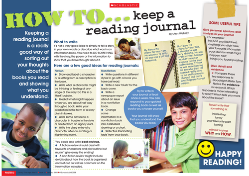 How to keep a reading journal