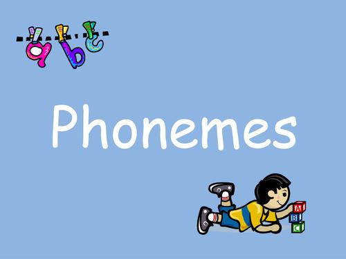 Jolly Phonics Large Size 'Phoneme' slideshow