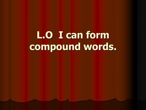 Compound words quiz (hard)