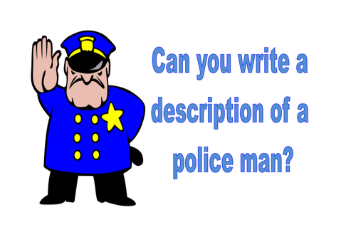 Cops & Robbers Writing Prompts