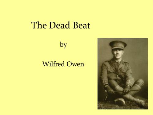 """The Dead Beat"" by Wilfred Owen"