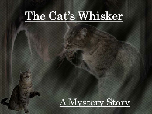 PowerPoint on writing mystery stories