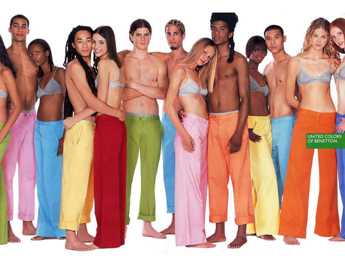Collection of Benetton ads
