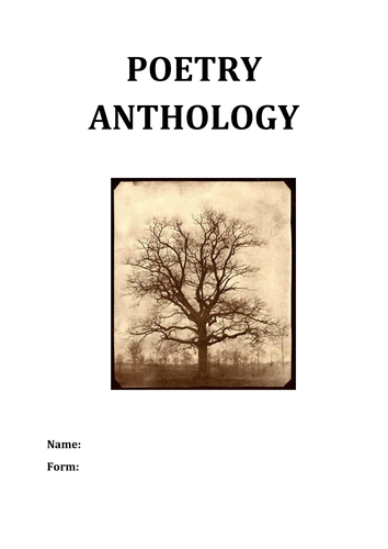6th grade to 8th grade poetry anthology  - setting and seasons