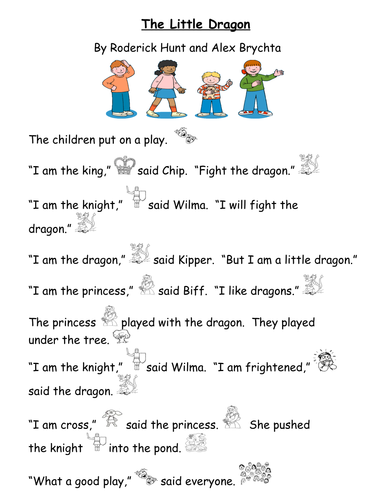 The Little Dragon Story and Comprehension