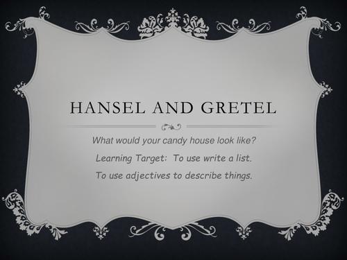 Hansel and Gretel List Writing