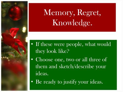 A Christmas Carol Lesson 5 - Christmas Past