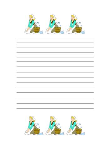 Cinderella writing paper dissertation proposal format
