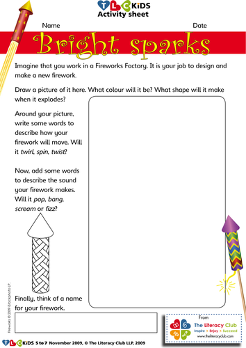 Bonfire Night literacy activity sheets by TLChelen ...