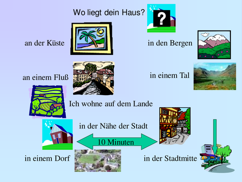 PowerPoint Song: German House Location