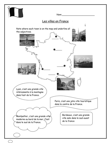 Descriptions of French towns
