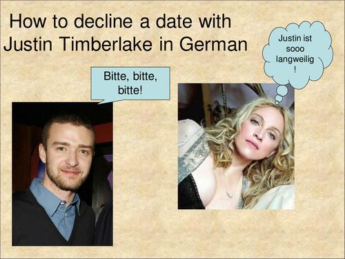 Decline a date