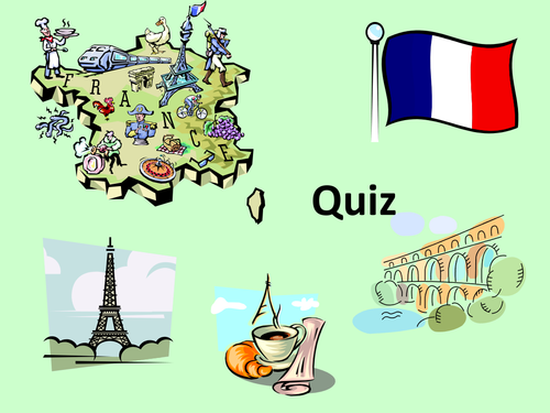 Quiz about France (multiple choice)