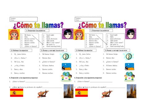 6th Grade Spanish Beginners By Lauralou83 Teaching