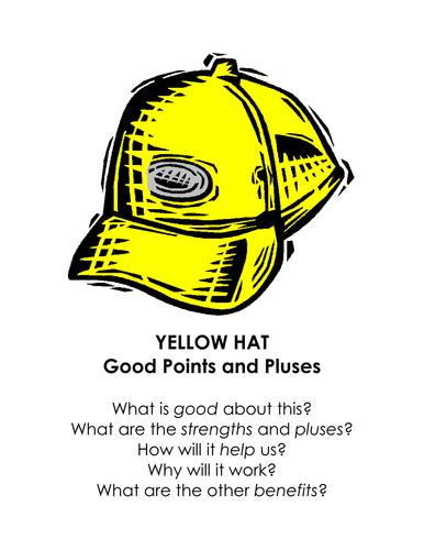 De Bono's Thinking Hats display