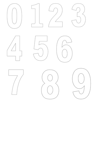 Number Templates