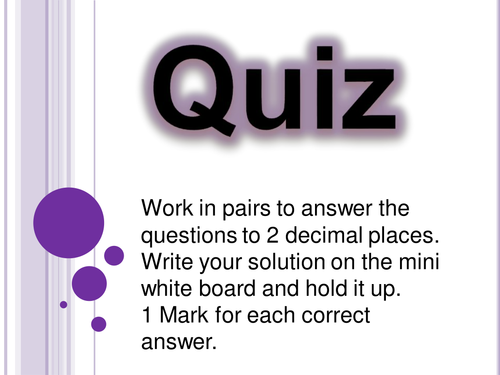Order Of Operations Calculator Quiz Teaching Resources