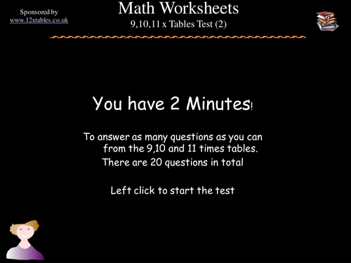 8;9 and 10 multiplication tables test (2)
