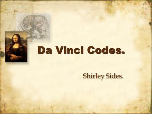 Da vinci code essay