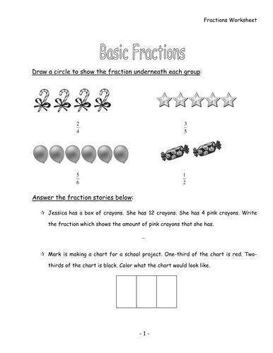 fractions worksheet by linc99 uk teaching resources tes. Black Bedroom Furniture Sets. Home Design Ideas